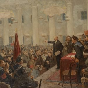 Lenin at the Winter Palace 56 x 80 cm.jpg