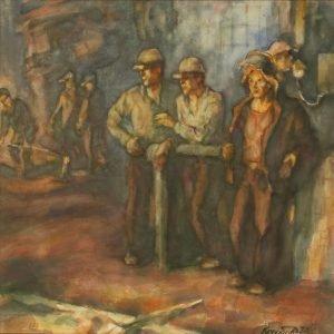 V F Korobov - Furnace Workers II. 56 x 55 cm.jpg