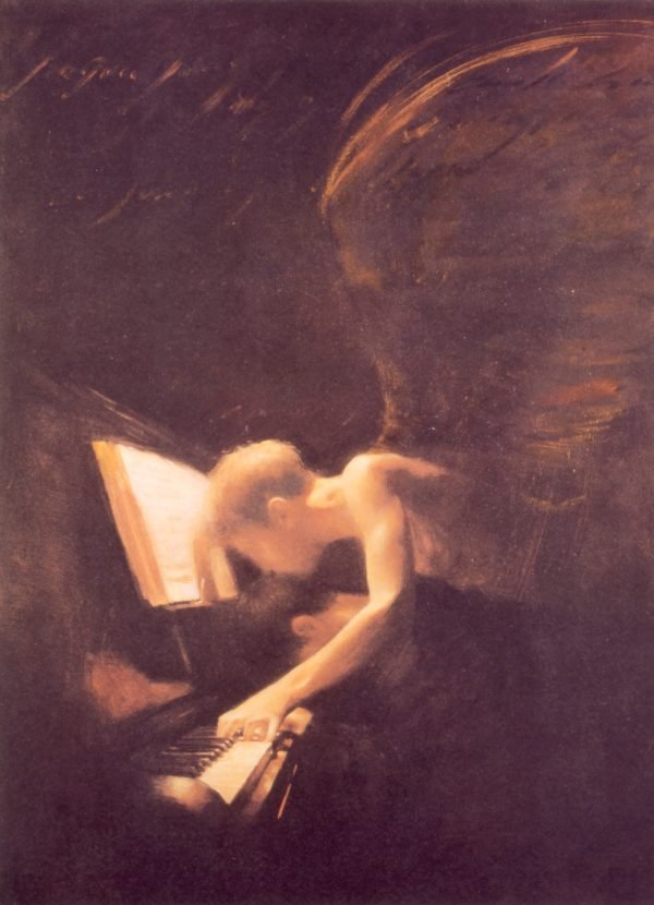 Angel and Piano Charlie Mackesy Print