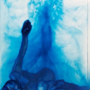 Claire Burbridge - Blue Figure close up.jpg