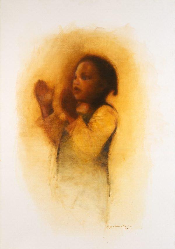 Girl Clapping (Oil).jpg
