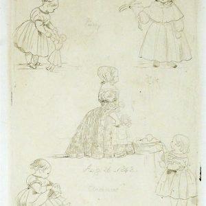 FIve studies of the princess royal.jpg