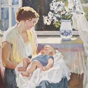 Faynerman - Mother and Child 102 x 126 cm.jpg