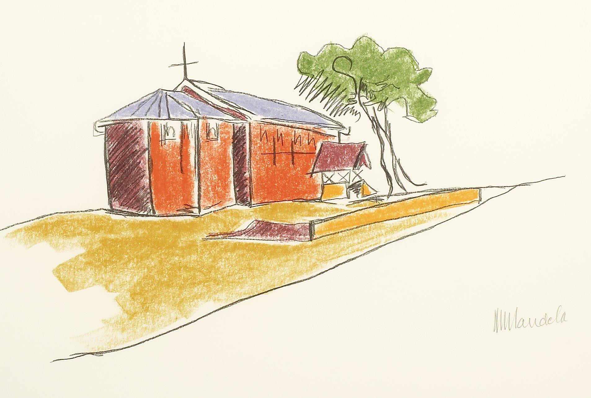 The Church Nelson Mandela Art