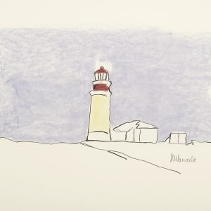 The Lighthouse Nelson Mandela Painting