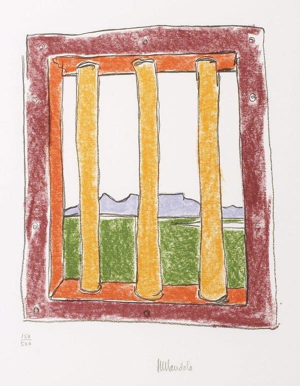 The Window Nelson Mandela Art