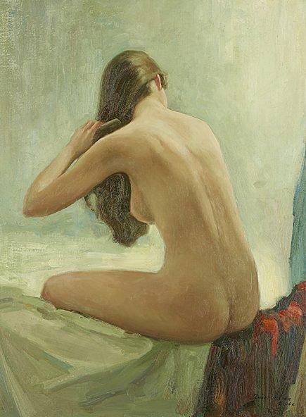 Woman Combing.jpg