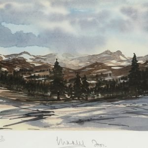 Balmoral Winter Scene Prince of Wales Artwork