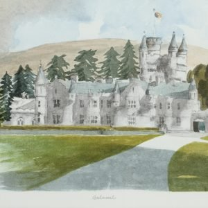 Balmoral Prince of Wales Painting