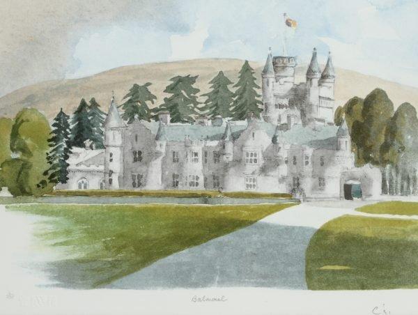 Balmoral Prince of Wales Painting