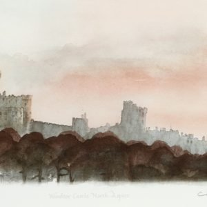 Windsor Castle North Prince Charles Art