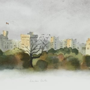 Windsor Castle HRH Prince of Wales Art