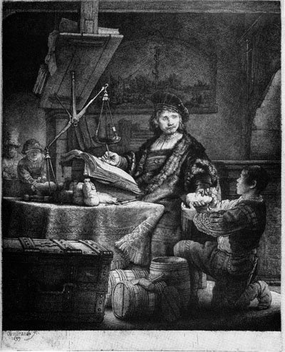 Jan Uytenbogaert,The Goldweigher lg .jpg