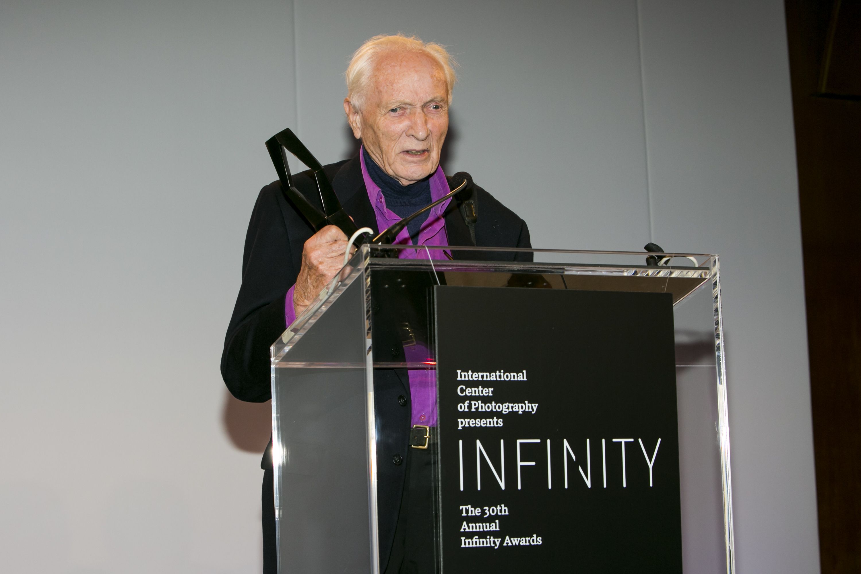12. Jurgen Schadeberg at the 2014 Infinity Awards.JPG