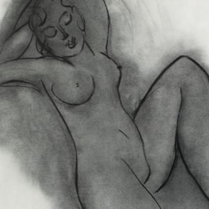 Henri Metisse - lo res Charcoal Nude Series Female Nude III - Copy.jpg