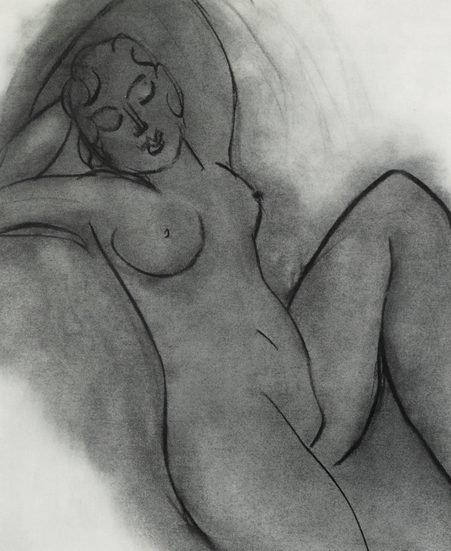 Henri Metisse - lo res Charcoal Nude Series Female Nude III - Copy.jpg