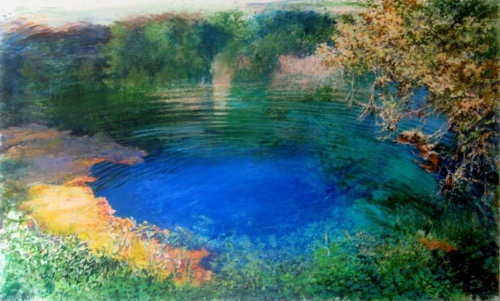 The Lake by Chryssa Verghi - 120 x 198cm.jpg