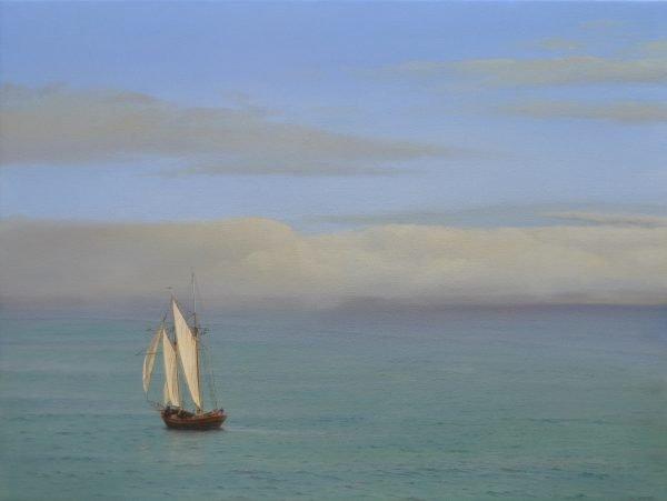 Topsail Schooner, St. Ives, 76x102cm, oil on canvas low res.jpg