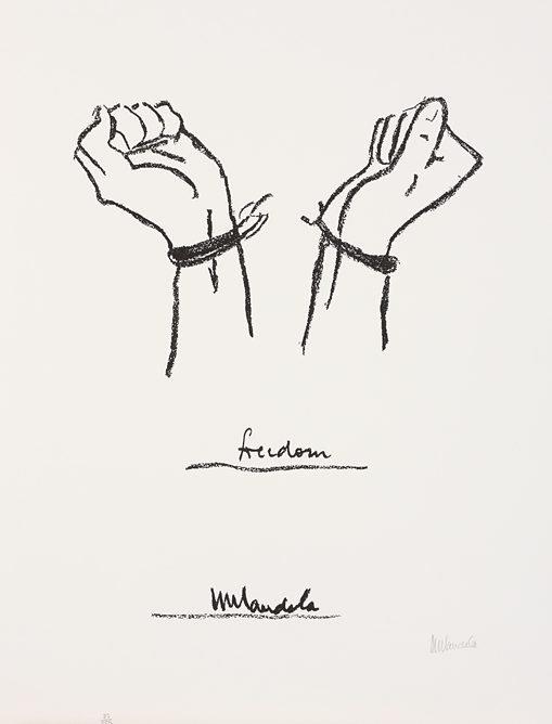 Large Struggle Series Nelson Mandela