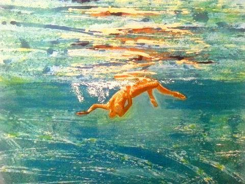 53 x 50 cm - Woman swimming upside down.jpg