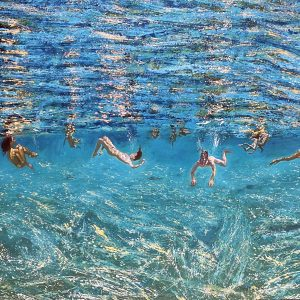 Maria Filopoulou - Underwater Swimmers