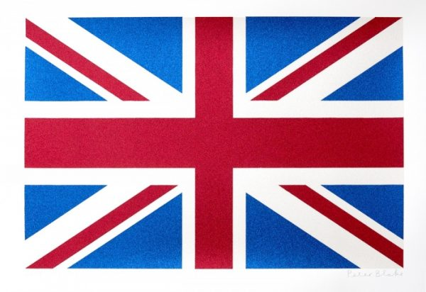 Sir Peter Blake - Union Flag - Great Britain