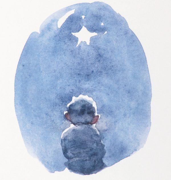 Starry Night Charlie Mackesy Art