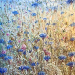 Cornflowers by Lincoln Seligman