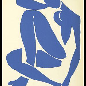 Henri Matisse - Femme Bleue Assise IV