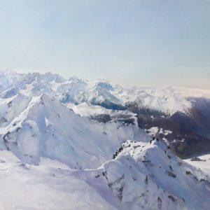 Winter Snow Scene - Victor Egorov